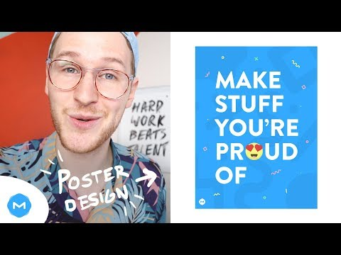 Make Stuff You're Proud Of Poster Design