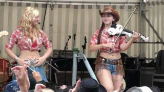 Repeat youtube video COUNTRY SISTERS - Cotton Eyed Joe