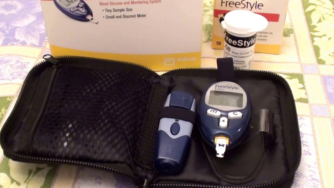 Freestyle Lite Blood Glucose Monitoring System Review