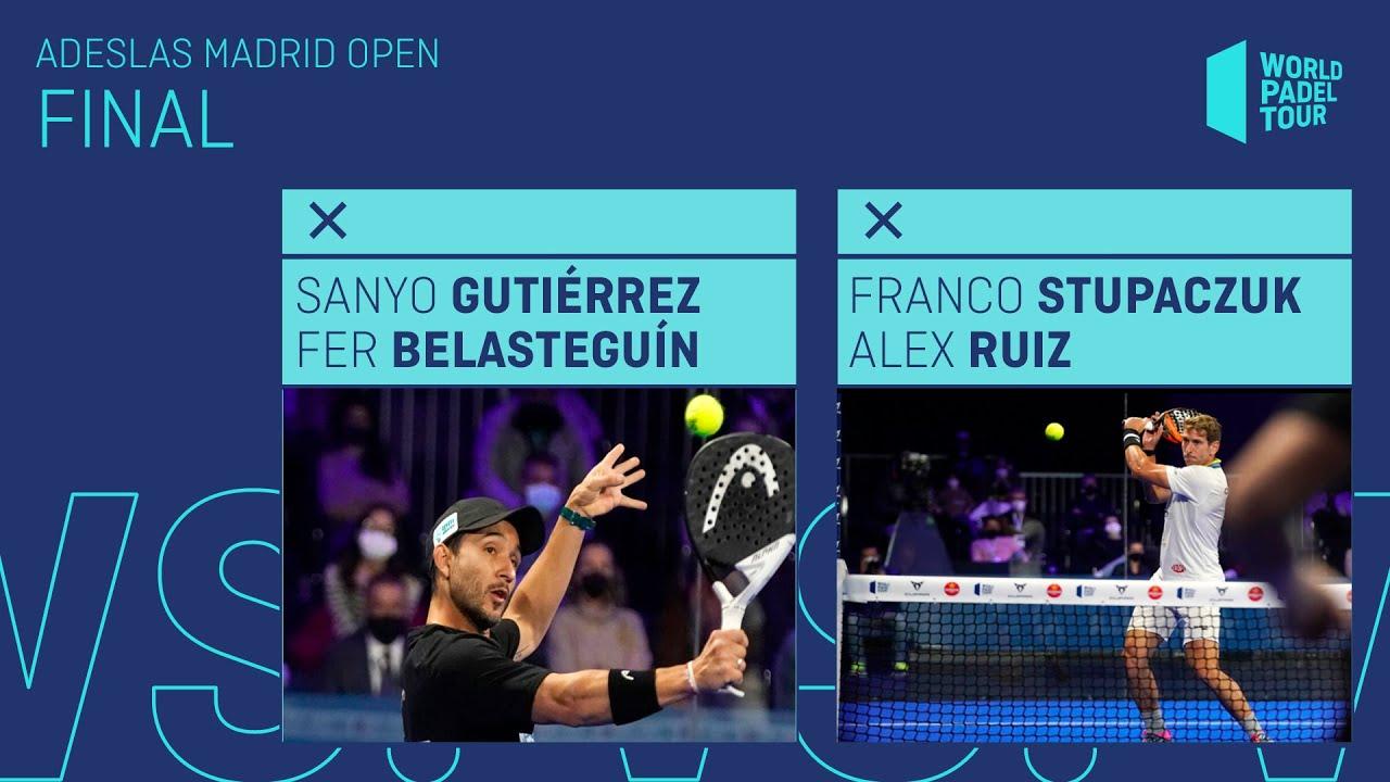 Resumen Final Sanyo/Bela Vs Stupa/Ruiz Adeslas Madrid Open