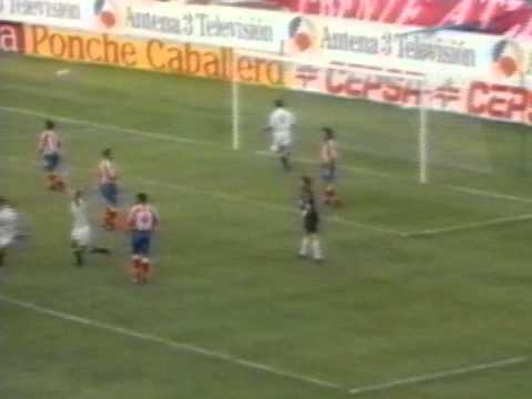 Atletico Madrid - Valencia CF 2-4  Liga 1994-1995