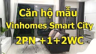 Căn hộ mẫu 2 ngủ +1+2wc dự án Vinhomes Smart City|VuongLand