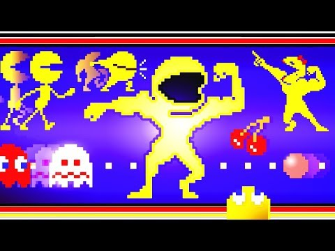 PAC-MAN Evolution 8bit Pixel Dubstep REMIXXX!!!
