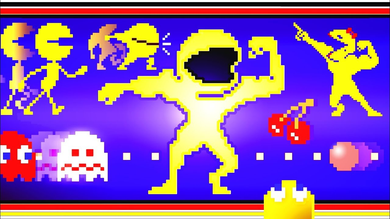 Pac Man Evolution 8bit Pixel Dubstep Remixxx Youtube