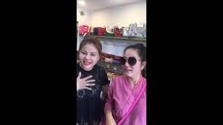 Thúy Nga đại náo shop thời trang của nghệ sĩ Lê Giang