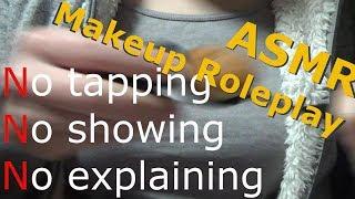 【ASMR/Binaural】Makeup Roleplay #6(No talking,Realistic speedy makeup)