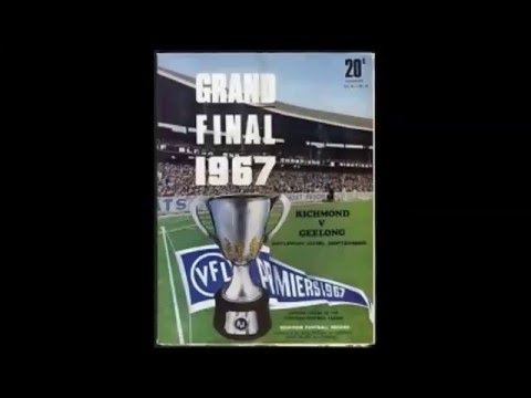 1967 VFL Grand Final - Richmond v Geelong - 3KZ Radio
