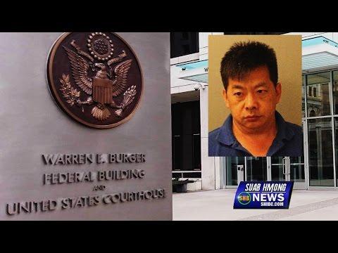 SUAB HMONG NEWS:  Seng Xiong, Hmong Tebchaws, First Court Appearance 04/20/2016