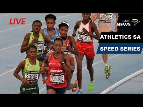 Athletics SA Speed Series: 28 February 2017