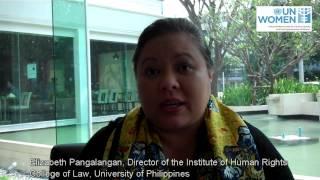 Filipino Participants Interviewed during CEDAW Regional Workshop, February 2012