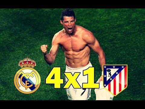 Real Madrid vs Atletico Madrid 4-1 All Goals and Highlights HD UEFA