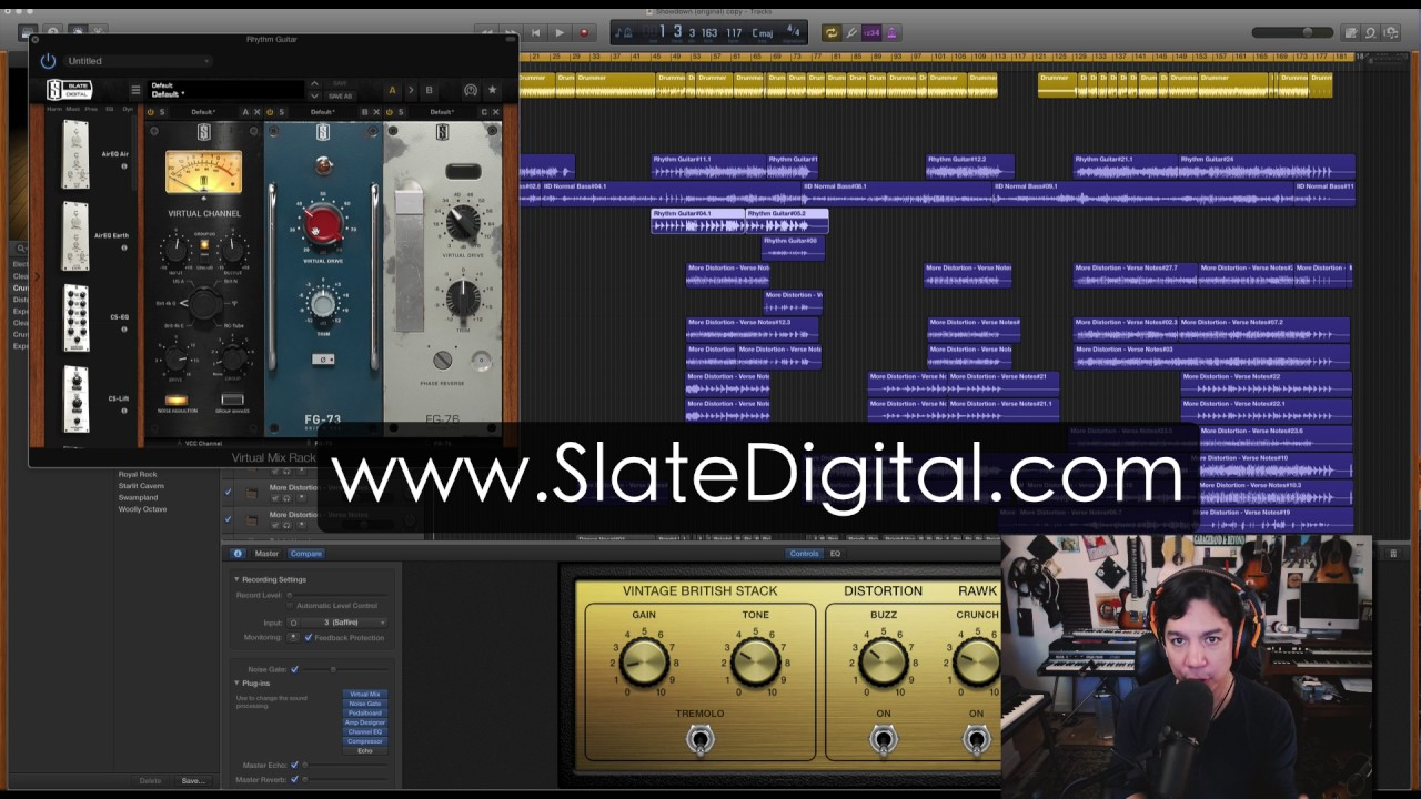 Garageband 10 - Slate Digital EVERYTHING BUNDLE - Garageband Pro Upgrade!