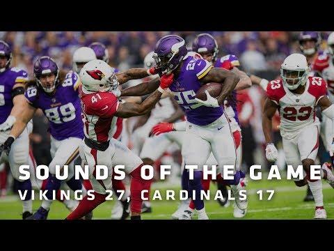 Sounds of the Game: Minnesota Vikings 27, Arizona Cardinals 17