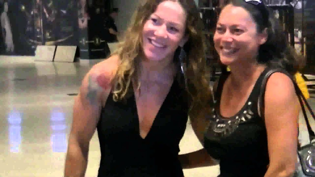 Cyborg Santos At The Weigh In With Girlfriend Ronda Rousey Best