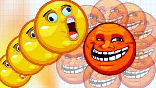 Agar.io Trolling Face Skin Funny Fails 100,000+ Mass Epic Agario Gameplay!