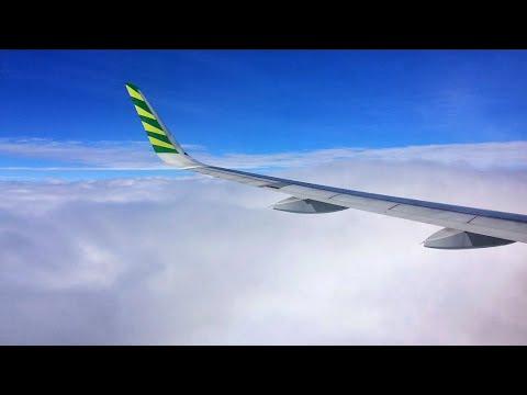 Citilink A320 SMOOTH LANDING in Jakarta Halim Perdanakusuma Airport