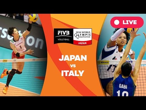 Japan v Italy - 2016 Women's World Olympic Qualification Tournament