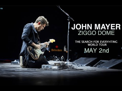 John Mayer Full concert 2017 - live at Ziggo Dome Amsterdam