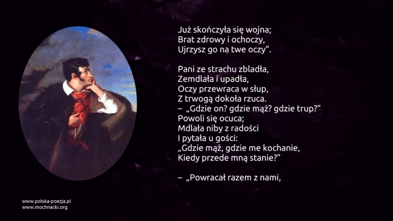 Adam Mickiewicz Lilije Ballada