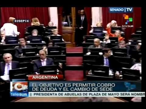 Argentina: Senate approves law for sovereign payment of debt