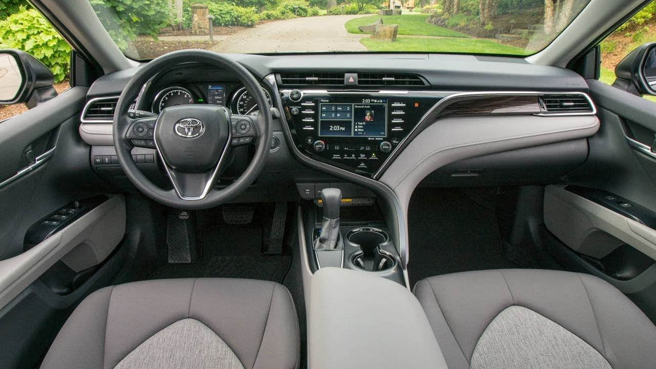 Toyota Camry 2018 Is In Its Eighth Generation More Sporty And Elegant Than Camrys Of Yesteryear