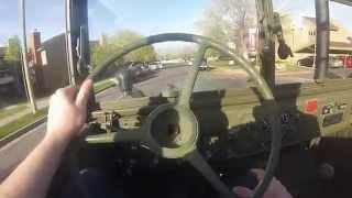 Commuting in a Detroit Diesel Powered M37