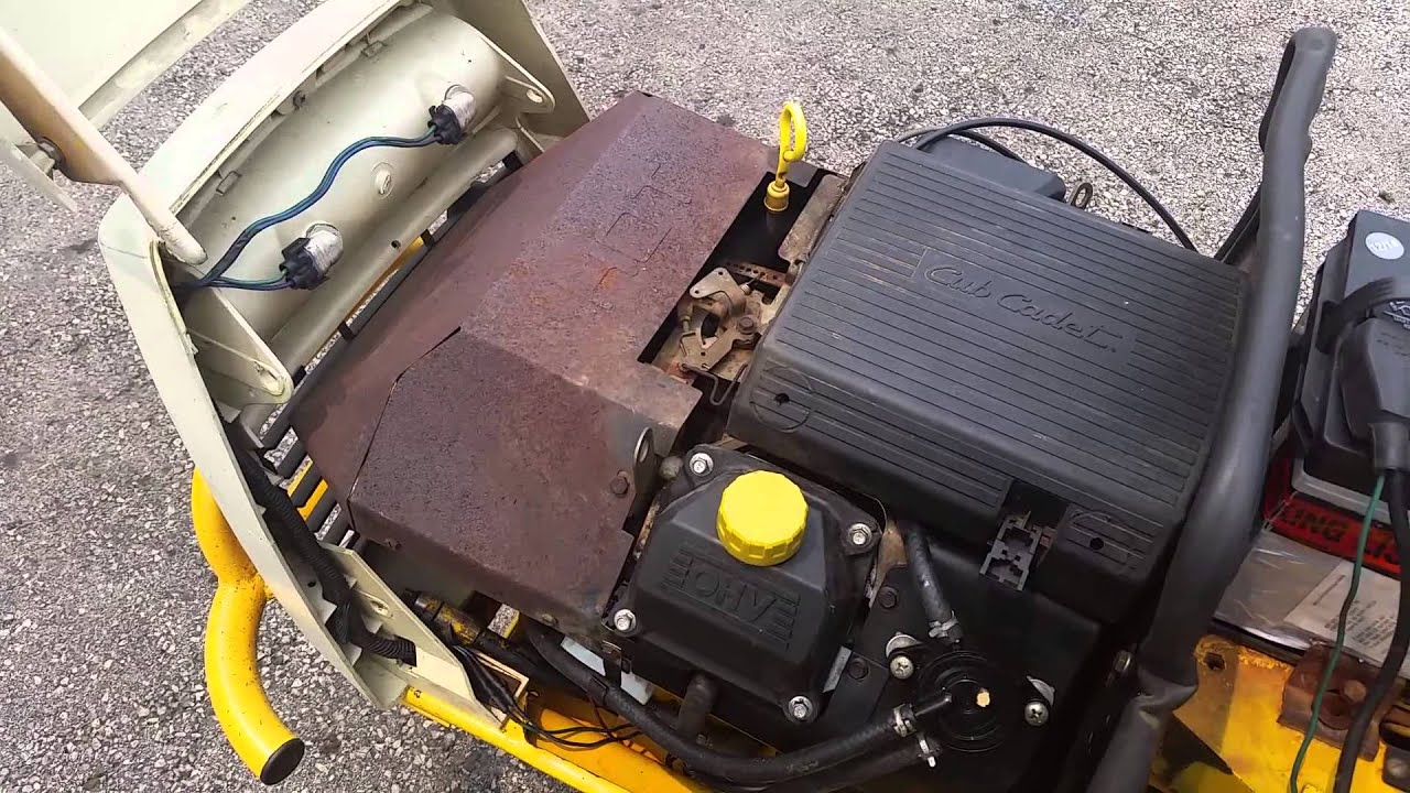 small resolution of cub cadet 1864 running rough pto engaged