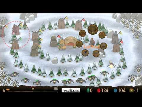 PixelJunk Monsters Ultimate - Team Hard 4 - Swirling Paths failed |