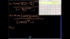 Lesson 1 - Calculate Cost of Loan
