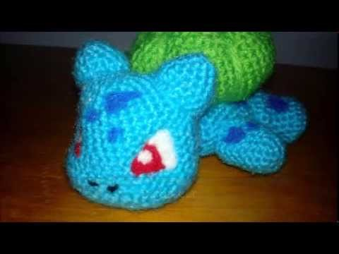 Amigurumi Pokemon Patterns Free : Patrón de bulbasaur free pokemon pattern amigurumi youtube