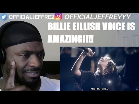 Billie Eilish  No Time To Die Live From The BRIT Awards, London   REACTION