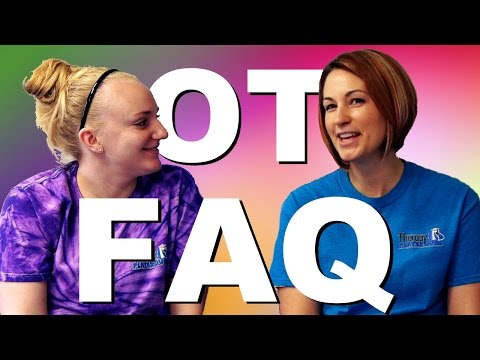 Occupational Therapy FAQ - YouTube