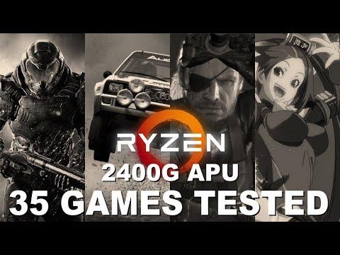 AMD Ryzen 5 2400G APU - 35 Games Tested!