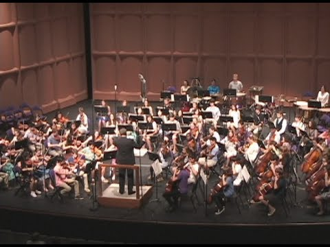 Furman University Band Camp 2017 Symphony Orchestra