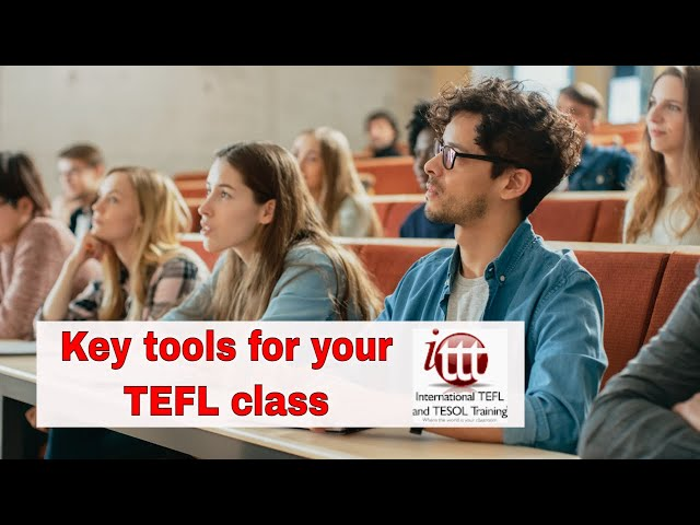 The 3 Key Tools to Keep Your TEFL Class Managed