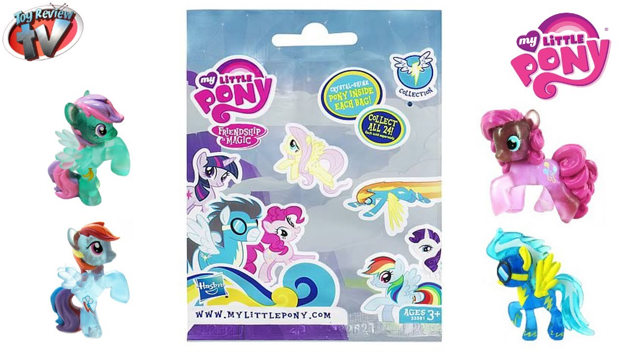 My Little Pony G4 Wave 7 Friendship Is Magic Blind Bags Review