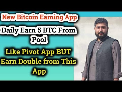 Daily Earn 5 BTC from hapo app | New Bitcoin Earning App | pivot App Replacement