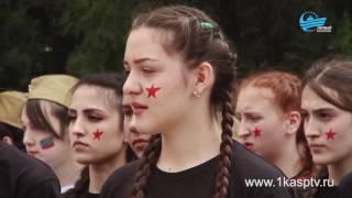 Военно-спортивная  игра «Зарница» прошла среди студенток медицинского училища г.Каспийск