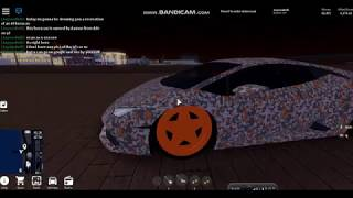 DDE TIRE SLAYER LAMBORGHINI HURACAN RECREATION (Vehicle Simulator : ROBLOX)