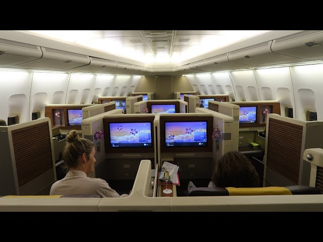 Thai Airways Boeing 747 First Class Bangkok to Munich: unpleasant surprise