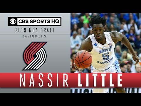 Nassir Little is a Tremendous athlete | 2019 NBA Draft | CBS Sports HQ