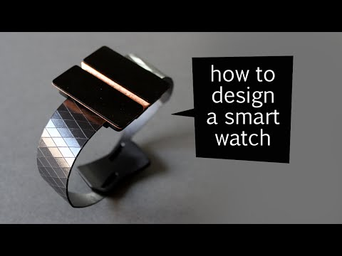 how to design a smart watch - design process