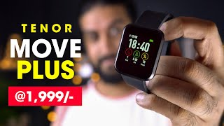 Tenor (10.or) Move Plus Fitness Smartwatch Unboxing & Hands On  (Hindi)