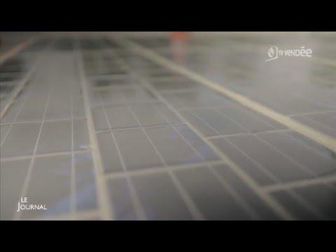 Innovation : La route solaire en Vendée