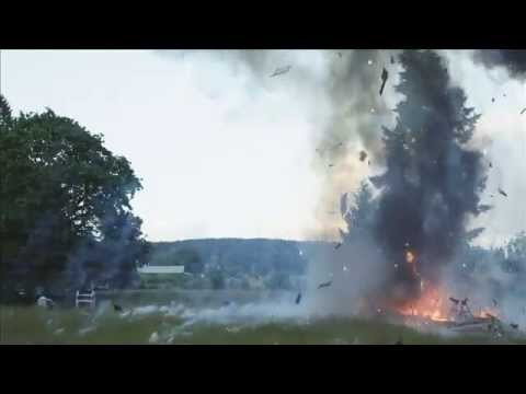 Explosion for Leverage Season 5 Television Series | Side View