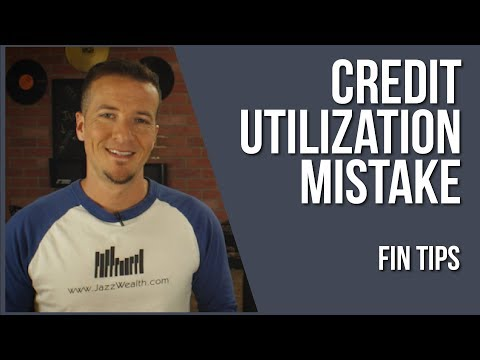 📄 Common mistake made with Credit Utilization | FinTips 📽