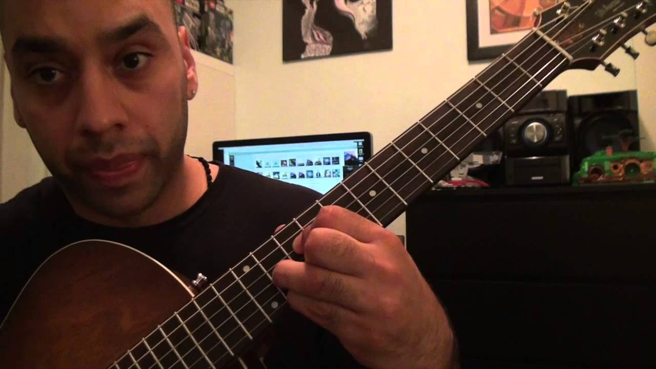 Justin Bieber All That Matters Guitar Tutorial Lesson Youtube