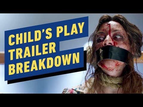 Child's Play Trailer Breakdown - Chucky, Aubrey Plaza