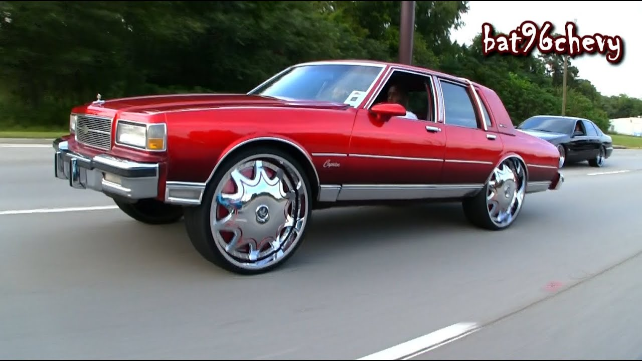 Candy Red Ls Box Chevy Tucking Dub 28 S Ryding On Highway