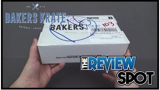 Subscription Spot - Bakers Krate January 2017 Subscription Box UNBOXING!